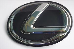 For LEXUS BLACK FRONT EMBLEM IS250 GS350 RX350 Grille Grill Logo Badge F sport