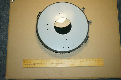 Carl Zeiss Jena Circle Stage For Polarizing Microscope Amplival Pol