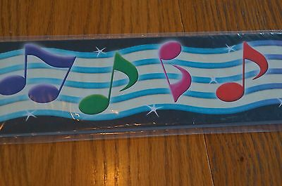 (TCR 5155 Music Symbols Bulletin Board Trim Trimmer Classroom Decoration)
