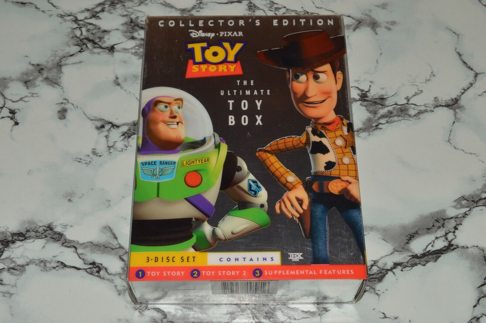 Toy Story 1 2 - The Ultimate Toy Box - Collector s Edition DVD -- Disney - $12.68