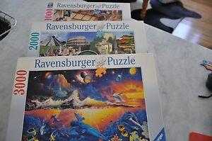 3 Ravensburger puzzles Peppermint Grove Cottesloe Area Preview