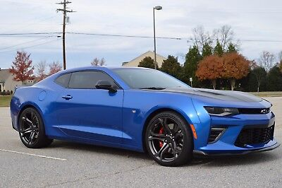 2017 Chevrolet Camaro SS 1LE Hyper Blue, 6 Speed Manual, Recaros, Ceramic Tint!