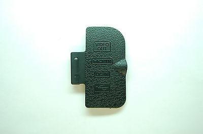 Nikon D300 USB rubber Cover For SLR Camera Brand new Part