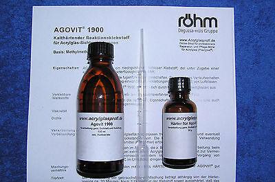 Plexiglas-Klebstoff ACRIFIX® 2R 1900, 100 ml, Plastikkleber,  AGOVIT 1900