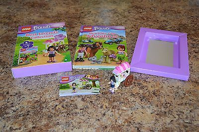 Lego Best Friends 4 Books in One Collection with Emma's Ice Cream Stand (30106) (Best Set With Stands)