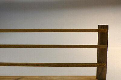 Holzstäbchen 4x4mm coloriert, 12 Stck, Basteln, Krippenbau men100821