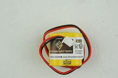 Emergency Lighting Battery 4.8v 400mah Bst Battery D-23aa400mah 4.8v Mk Power