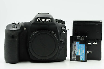 Canon EOS 80D 24.2MP Digital SLR Camera Body                                #234