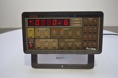 Keithley 224 Programmable Current Source With Fresh Calibration