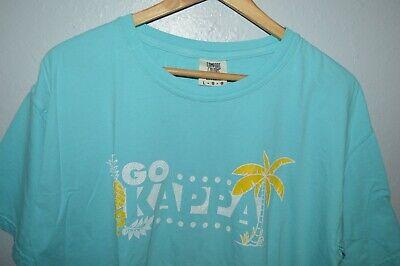 Comfort Colors Go Kappa Kappa Gamma Garment Dyed T-Shirt Mens Large Greek Life