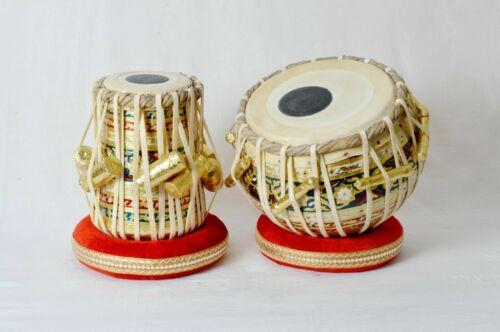 Professional Musical Instrument High Quality Wooden Meenakari Work Tabla Set