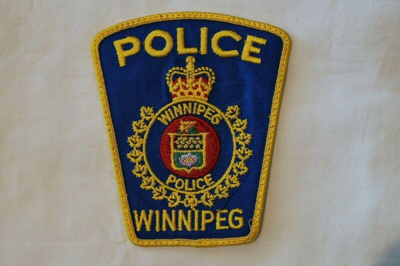 Canadian Manitoba Winnipeg Police Patch 2 Obsolete