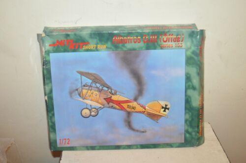 Model Aircraft HIT KIT Albatros D.III Offag Plane Vintage New 1/72