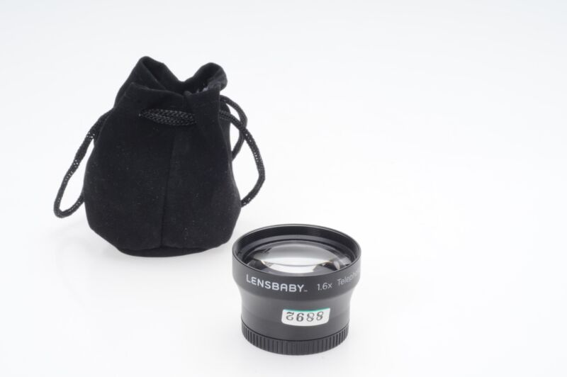 Lensbaby 1.6x Telephoto Lens for Composer, Muse, Control Freak              #892