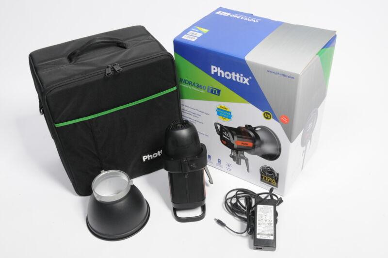 Phottix Indra360 TTL Battery Powered Studio Light Indra 360 #IV3