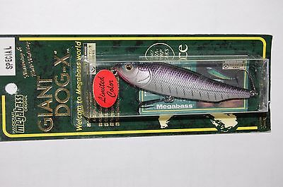 "megabass giant dog-x ito purple shore 1/2oz 3.85"" special limited color"