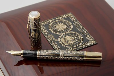 Cristobal Colon Toledo Montblanc Artisan Edition XX / 92 Fountain Pen NEW + BOX