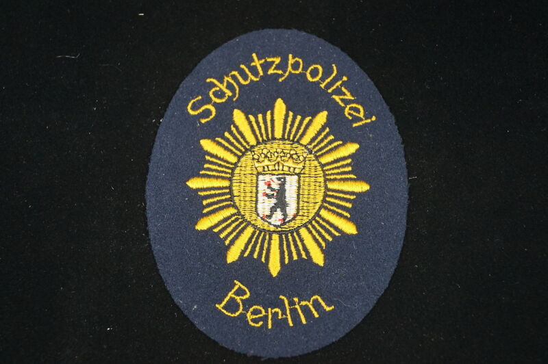 German Schutzpolizei Berlin Police Patch 2