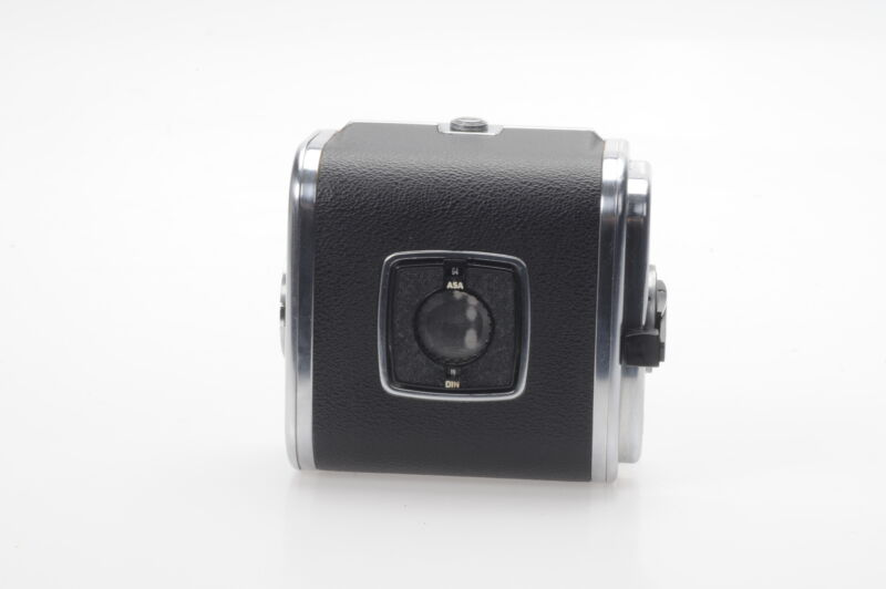 Hasselblad A16 S V-Button Roll Film Back Chrome A16S #211