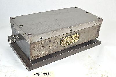 Magna Lock Electro-magnetic Sine Chuck 110v Dc 6 X 12 Magnetic Sine Plate Hold