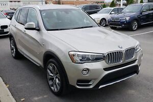 2015 BMW X3 xDrive28i PREMIUM AND EXECUTIVE PKG!