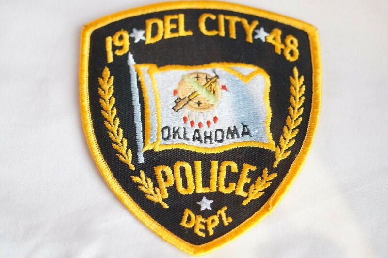 US Del City Oklahoma Police Patch