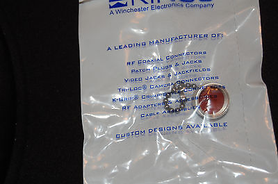 M39012//25-0011 Delta Electronics Dust Cap for N Type Jack Connector NOS