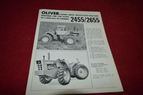 Oliver 2455 2655 Articulated Tractor Dealer
