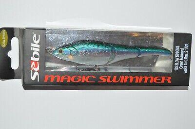 "SEBILE MAGIC SWIMMER 145 FAST SINKING 5 3//4/"" 1.5 oz SWIMBAIT DISCONTINUED.,, 2"