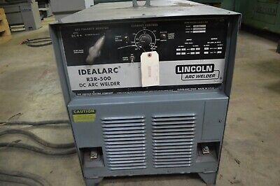Lincoln Electric Dc Idealarc R3r-500 Arc Stick Welder