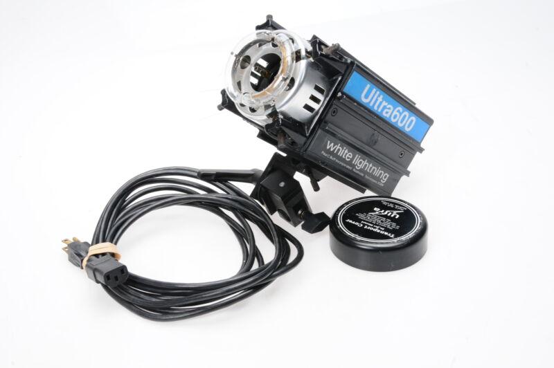 White Lightning Ultra 600 Monolight Strobe Head w/Power Cord #699