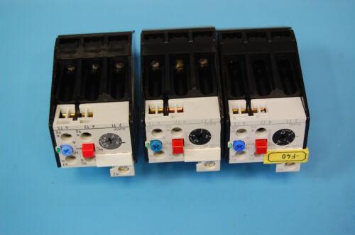 3 Siemens Overload Relays 2 3UA50 00-1G 1 3Ua50 00-1C