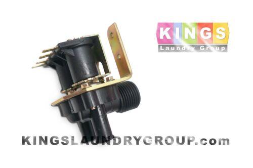 BLACK 2-WAY Inlet Valve , 110V for DEXTER Washer - 9379-183-003, 9379-184-001