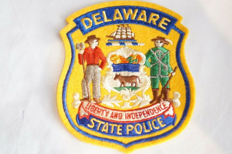 US State Police Delaware Police Patch 2