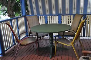 Table and four chairs Birmingham Gardens Newcastle Area Preview