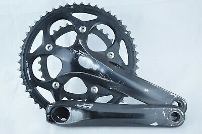 Shimano 105 5750 10-Speed 50//34t 172.5mm Road Bike Crankset Black
