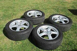 Honda mag wheels with Good Year tyres Bray Park Pine Rivers Area Preview
