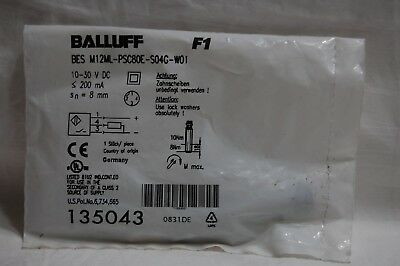 Balluff Bes M12ml-psc80e-s04g-w01 Sensor