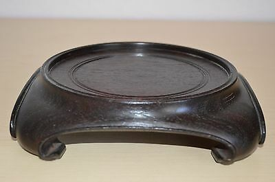an old antique Chinese wood stand