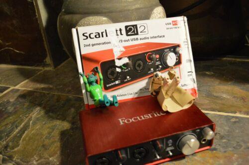 Focusrite Scarlett 2i2  USB Audio Interface-