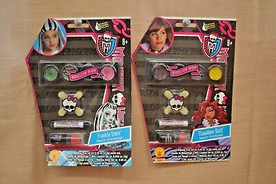 U PICK Monster HIGH Makeup SET Frankie STEIN Clawdeen WOLF 8+ Halloween DRESS UP (Monster High Dress Up Clawdeen Wolf)