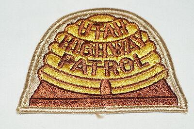 US Highway Patrol Utah Police Patch 2