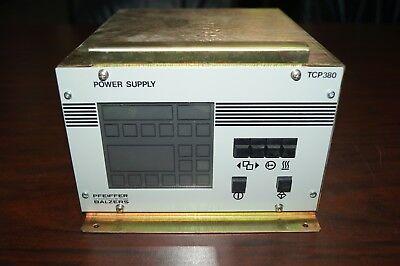 Pfeiffer Balzers Tcp 380 Controller Power Supply Pm C01 490