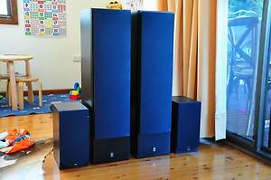 Yamaha NS-50F Floor Standing Speakers Gladesville Ryde Area Preview
