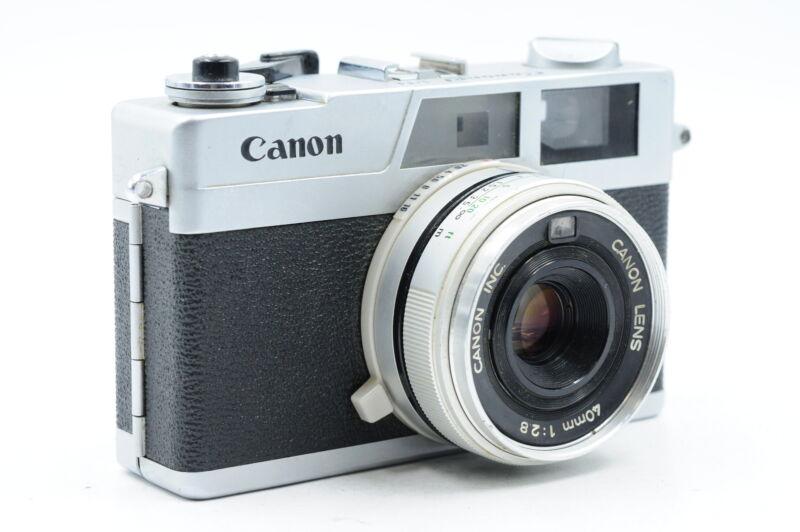 Canon Canonet 28 Film Camera w/40mm f2.8 Lens #126