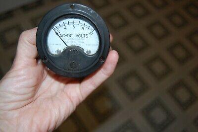 Vintage U.s.n Westinghouse Ac-dc 1-10 Volt Meter