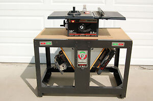 Sears Craftsman Rotary Work Bench w/ Table Saw, Scroll Saw & Belt/Disc Sander