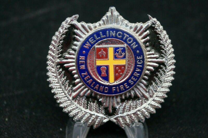 Wellington New Zealand Fire Service Department Cap Badge