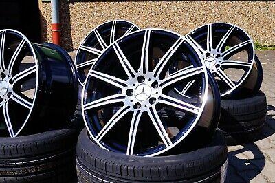 19 Zoll Alufelgen KT16 für Mercedes E-Klasse W210 W211 W212 T-Modell AMG 8,5 9,5