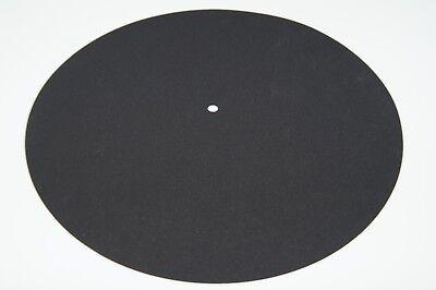 Record Player Soft 1.2mm Thick Neoprene Turntable Platter Mat Standard 295mm
